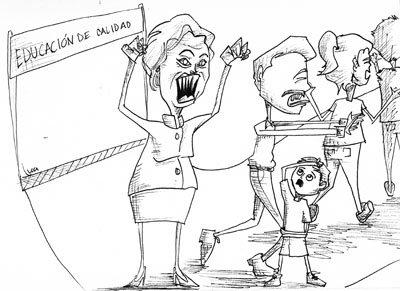 Caricatura de Ana Alvelais