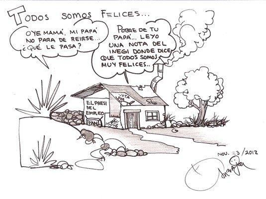 Caricatura de Roberto Carbajal